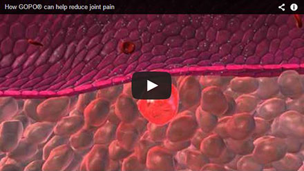 How GOPO can help reduce joint pain – video
